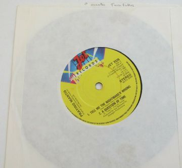 "PRAYING MANTIS Turn The Tables 1982 UK 7"" EP NWOBHM MINT MINUS AUDIO"